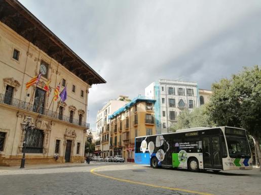 En lo que va de año, los usuarios del bus de Palma han descendido un 53,6 %, según los datos que ha publicado este viernes el Instituto Nacional de Estadística (INE).