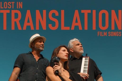 Gonzalo Nadal, Aina Zuazaga y Toni Bestard forman el trío Lost in Translation.