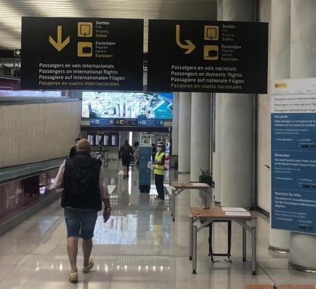 Los viajeros procedentes de la Península tendrán que acreditar que no tienen COVID-19 para poder entrar en Baleares.