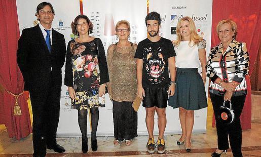Marcelí Rul.làn, Marisa Cortés, Tania Frau, Pablo Erroz, Helen Cummins y Margalida Riutort.