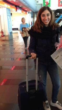 Denise viajó a Italia el pasado 27 de noviembre y se realizó una PCR en el aeropuerto de Roma.