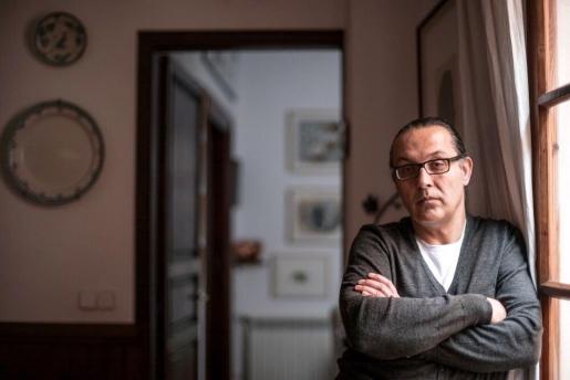 El escritor Sebastià Perelló, en Palma.