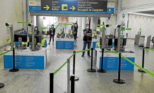 Salut aprovechará la infraestructura montada por Sanidad Exterior y AENA en los aeropuertos el pasado 23 de noviembre, cuando entró en vigor la exigencia de PCR a los extranjeros.