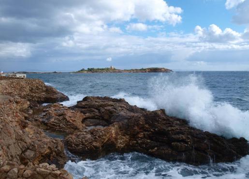 El temporal que lleva días afectando a Baleares ha dejado rachas de viento significativas.