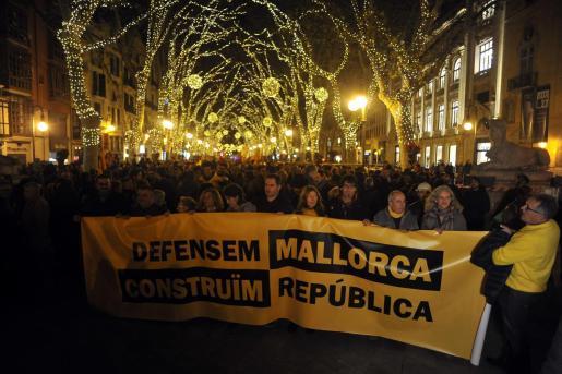 El Bloc d'Unitat Popular ha indicado que será en sustitución de la tradicional manifestación independentista del 30 de diciembre.