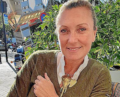 Imagen de la periodista y presentadora de televisión francesa.