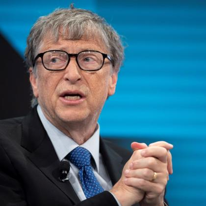El empresario estadounidense y cofundador de la empresa Microsoft, Bill Gates.