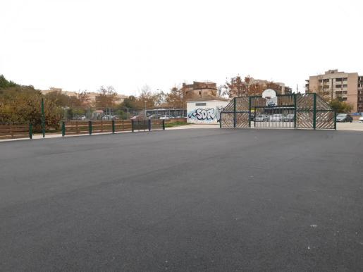 Las pistas deportivas de Son Gibert están en el Rafal Nou.