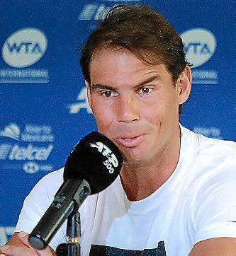 El tenista Rafael Nadal, en una imagen de archivo.