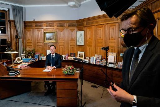 El primer ministro Mark Rutte.