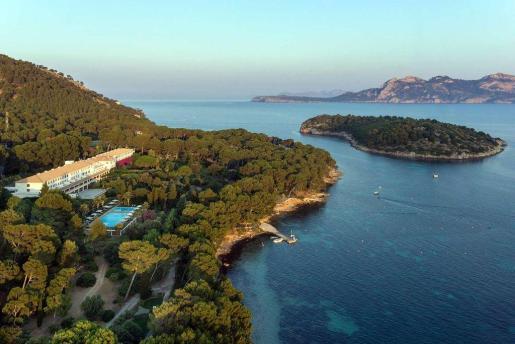 Vista general del Hotel Formentor.