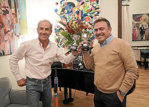 Manolo Beltrán e Imanol Pérez.