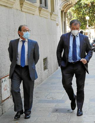Los fiscales Tomás Herranz y Fernando Bermejo.