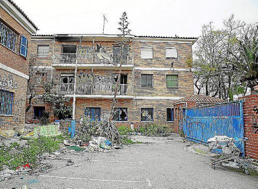 Imagen de la antigua cárcel de Palma.