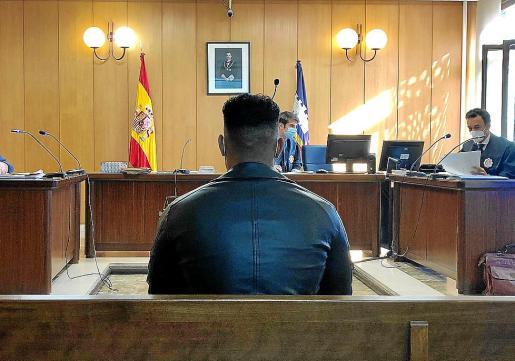 El acusado, en el juicio celebrado a finales de noviembre en un juzgado de Palma.