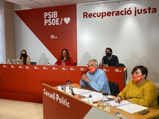 El PSIB celebra su último Consejo Político de 2020, haciendo balance de este año «complicado» marcado por la pandemia