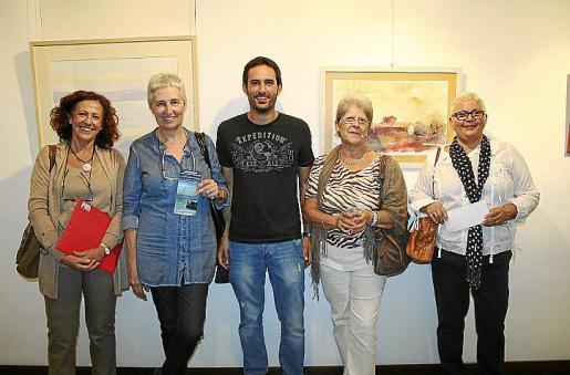 Aina Bisquerra, Visi Araújo, Xavi Vaquer, Chelo Vila y María Cruz García.