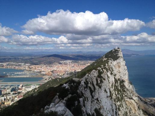 Imagen del peñón de Gibraltar.