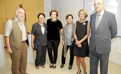Luis Castaldo, Mercé Alabern, Maria Abando, Amalia Bernabé, Irene Mestre y Miquel Deyà Bauzà.