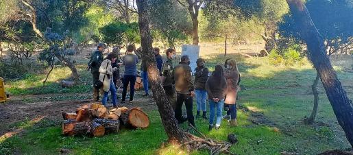 La semana pasada la Conselleria de Medi Ambient presentó la nueva zona de acampada en la finca de es Canons.