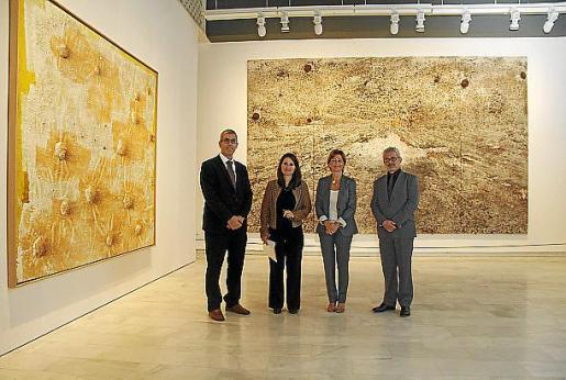 Ignasi Miró, Ninfa Bisbe, Marga Pérez Villegas y Bartomeu Marí.