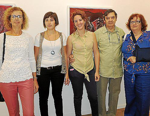 Joana Morro, Magdalena Luis, Georgina Gamundí, Toni Gamundí y Antònia Vives.