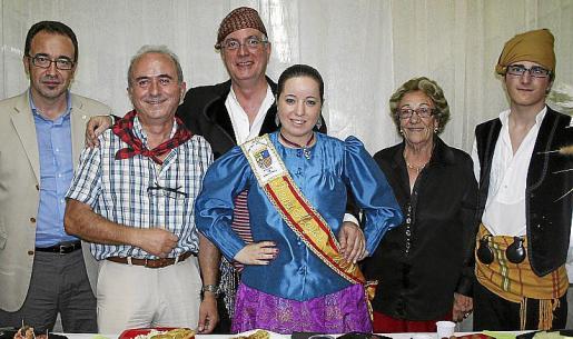 Juanma Gómez, Fernando Garrido, José Manuel del Pozo, Patricia Garrido, Meli Blázquez y David Garrido.