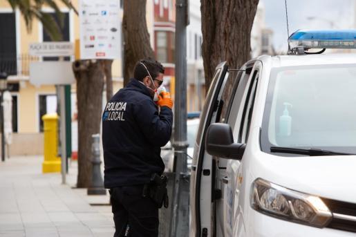 La Policía Local de Ciutadella recibió la denuncia.