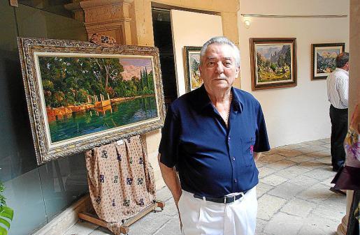 Imagen de archivo del artista Josep Munar, quien falleció ayer a los 76 años.