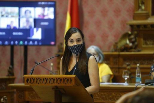 Beatriz Camiña es la portavoz de Cs en el Consell.