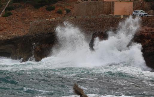 La Aemet ha activado alerta amarilla por mala mar en algunas zonas de Mallorca.