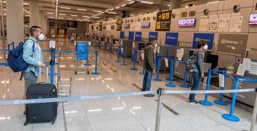 Imagen de archivo del aeropuerto de Palma.