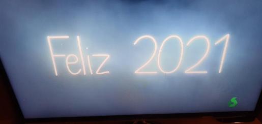 El alcalde de Palma utilizó esta imagen de La Sexta para despedir 2020.