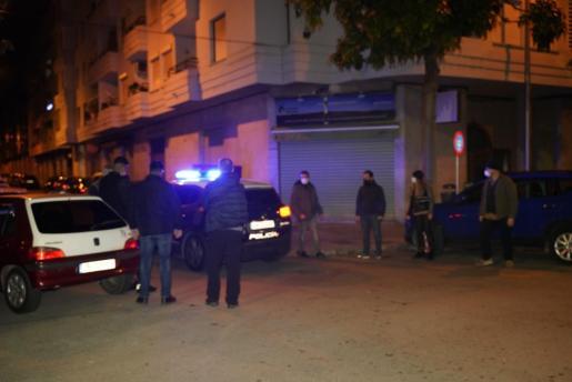 Los menores fueron interceptados por agentes de la Policía Nacional y Policía Local de Palma. Foto: José de Orbe