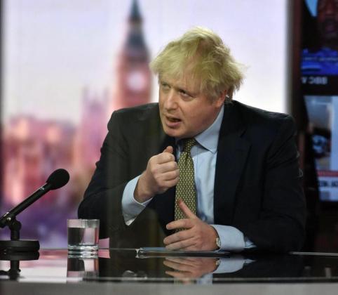 Imagen del primer ministro británico, Boris Johnson.