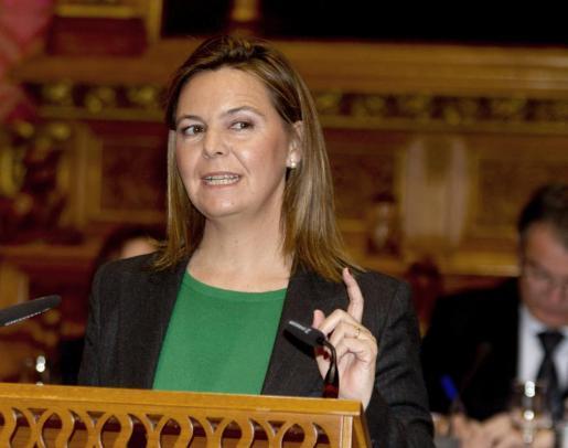La presidenta del Consell de Mallorca, María Salom.
