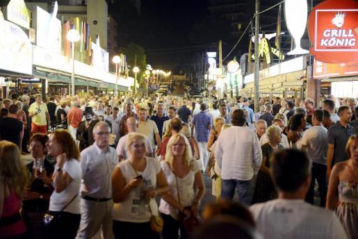 Los hechos tuvieron lugar en la conocida como la calle del Jamón de s´Arenal.