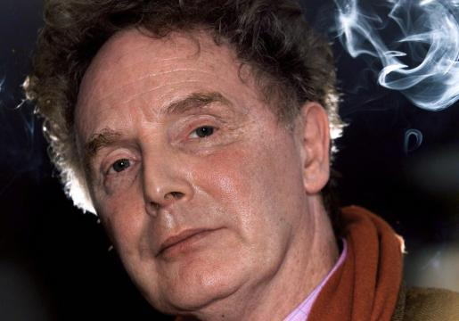 Malcolm McLaren, ex manager de los Sex Pistols.