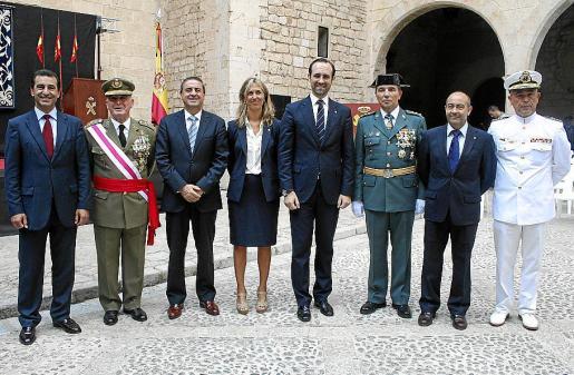 Gabriel Company, Adolfo Orozco, Pere Rotger, Teresa Palmer, José Ramón Bauzá, Basilio Sánchez-Rufo, Antonio Gómez y Francisco Arenas.