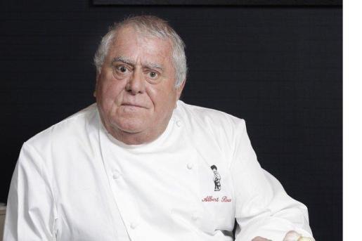 El francés Albert Roux, pionero de la alta cocina en el Reino Unido.