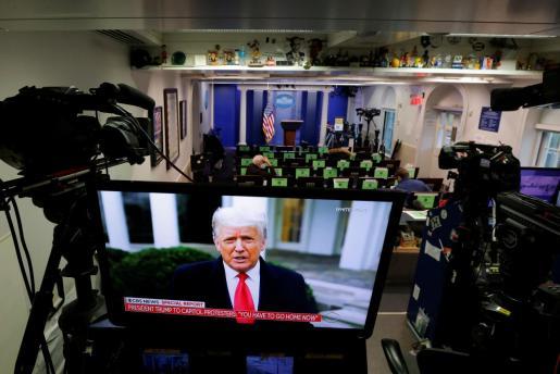 El presidente saliente estadounidense, Donald Trump, aceptó este jueves que su Presidencia será de un solo mandato.