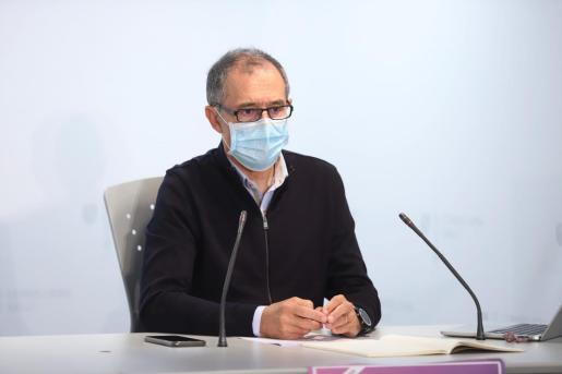 Javier Arranz, portavoz del comité autonómico de enfermedades infecciosas.
