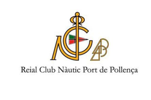 Logo del Reial Club Nàutic Port de Pollença.