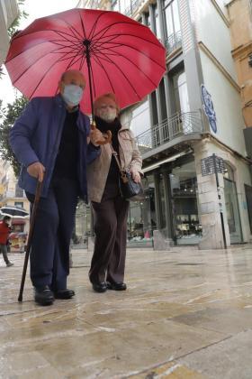 El paraguas será necesario en los próximos días.