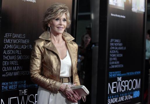 Jane Fonda, en una imagen de archivo.