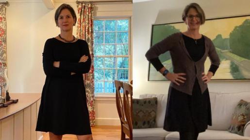 «Este reto no empeoró mi vida. Al contrario, me ha inspirado para no comprar ropa en todo el 2021», aseguró Sarah.