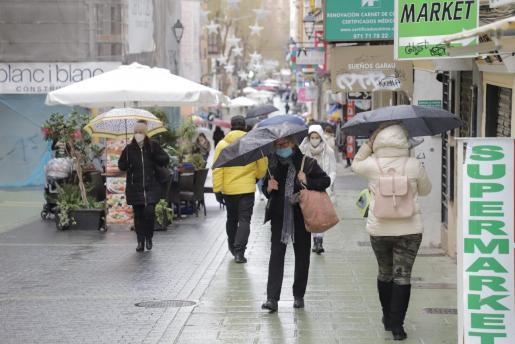 Mallorca está en alerta amarilla por lluvias.