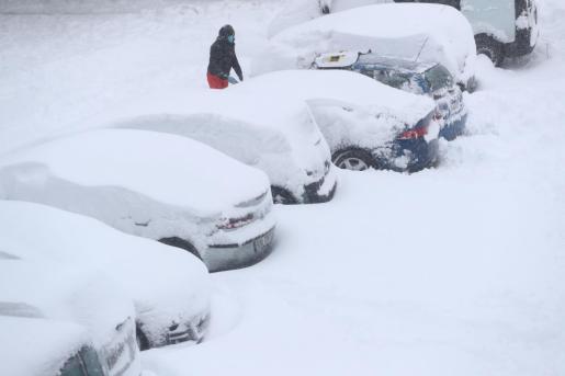 Un hombre ha fallecido sepultado por la nieve en la localidad madrileña de Zarzalejo.