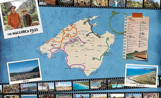 Mallorca Film Comission edita un 'movie map' con los lugares emblemáticos de la Isla en los que se ha rodado esta serie de éxito de la BBC.