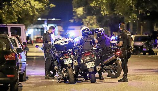 La Policía Nacional procedió a la detención de los sospechosos.